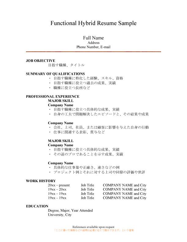 レジュメ&カバーレター添削&新規作成サービス エアライン受験 Ca Style